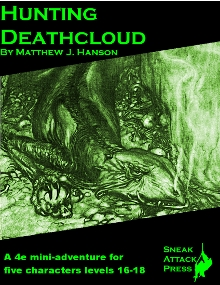 Hunting Deathcloud Cover