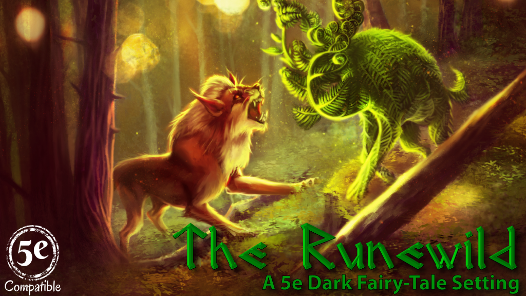 Runewild Kickstarter Cover